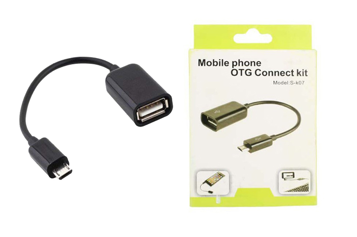 ADAPTADOR OTG CONNECT KIT p/CELULAR (HC)