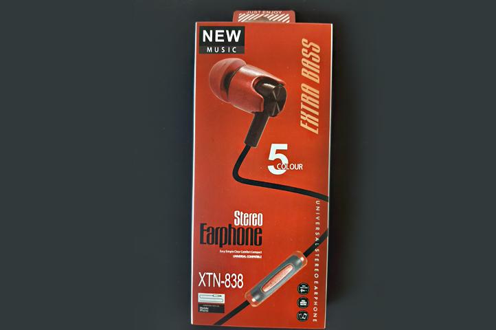 AURICULAR STEREO NEW MUSIC XTN-838 (HC)