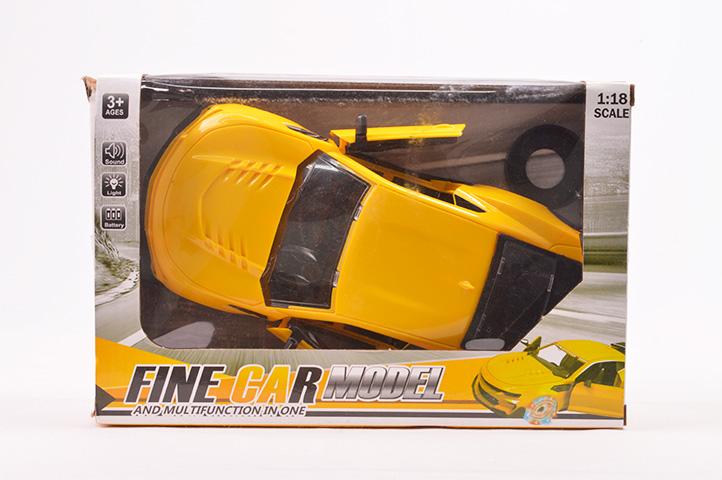 AUTO c/LUZ Y SONIDO FINE CAR (CL2)