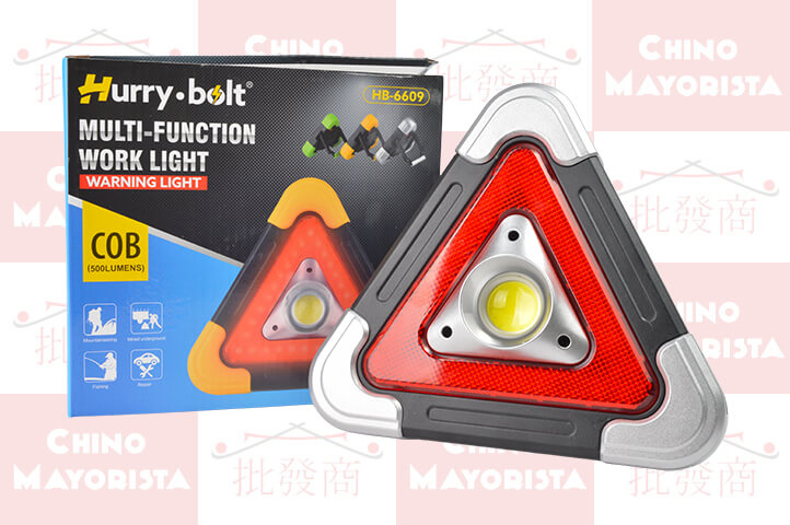 BALIZA TRIANGULO c/LUZ LED (CS2)