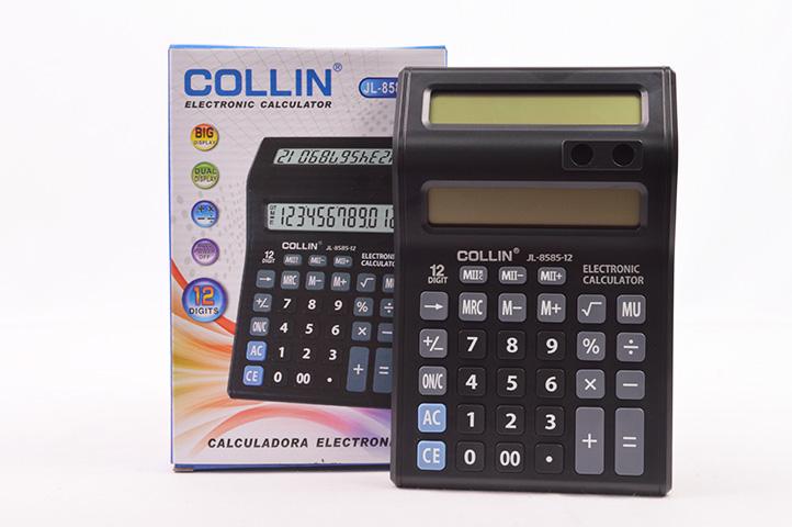 CALCULADORA 12 DIGITOS DOBLE DISPLAY (JL-8585-12) (LU)