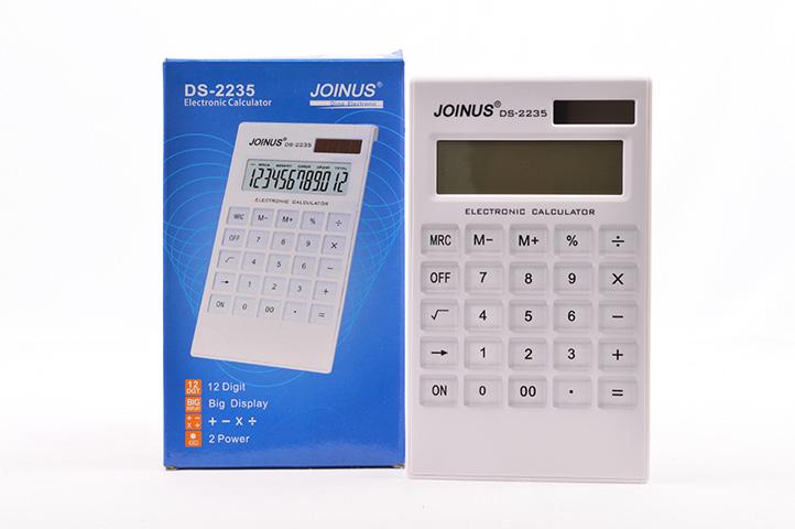 CALCULADORA ELECTRONICA 12 DIGITOS JOINUS DS-2235 (18705) (CLI)