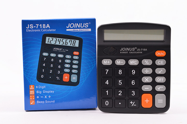 CALCULADORA JOINUS 8 DIGITOS JS-718A (CS)