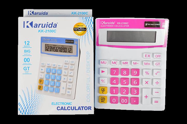 CALCULADORA ELECTRONICA KK-2100C (LU)