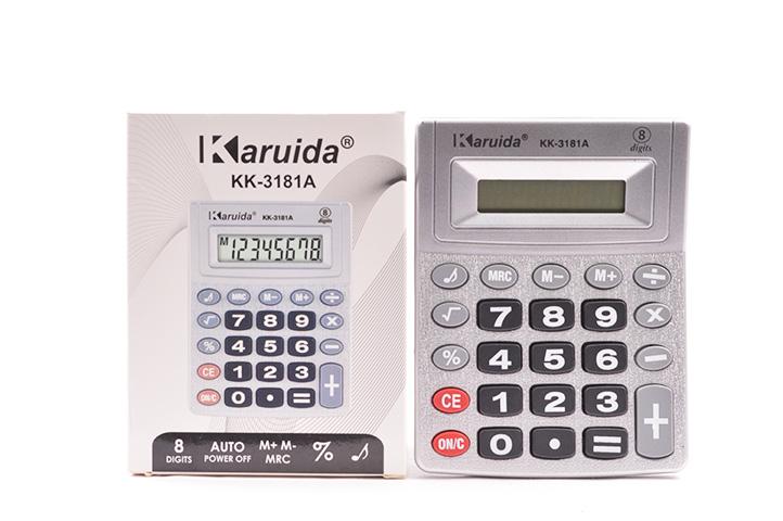 CALCULADORA ELECTRONICA KK-3181A (LU)
