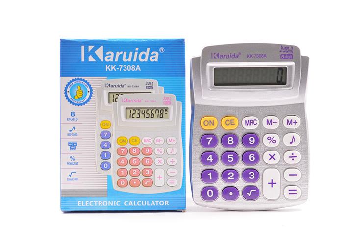 CALCULADORA ELECTRONICA KK-7308A (LU)