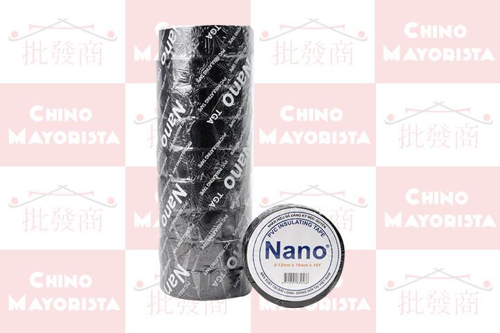 PACK 10 CINTA AISLADORA PVC 10mts (CS)