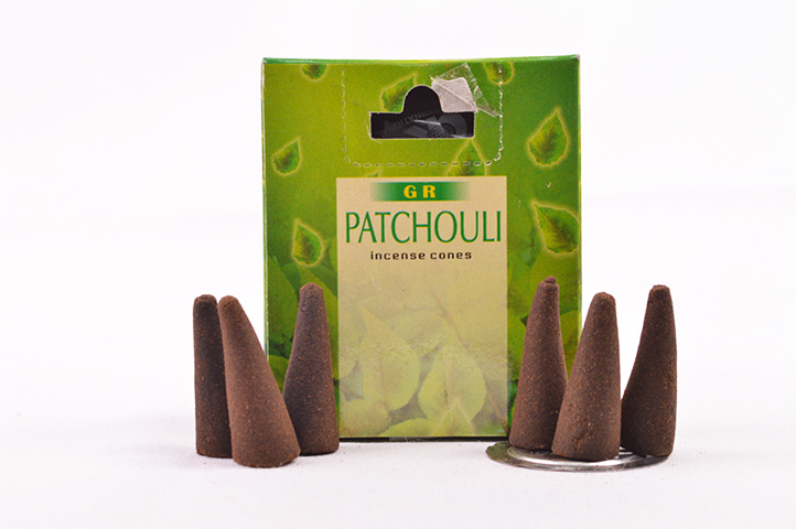 CONOS AROMATICOS x10unid GR PATCHOULY (PS)