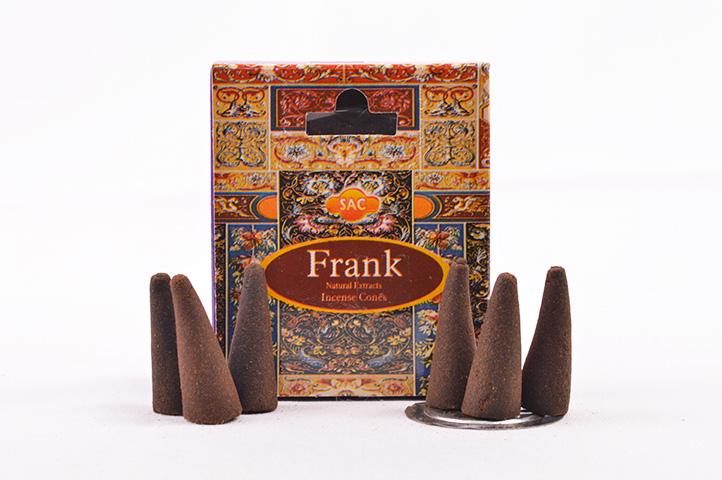 CONOS AROMATICOS x10unid SAC FRANK (PS)