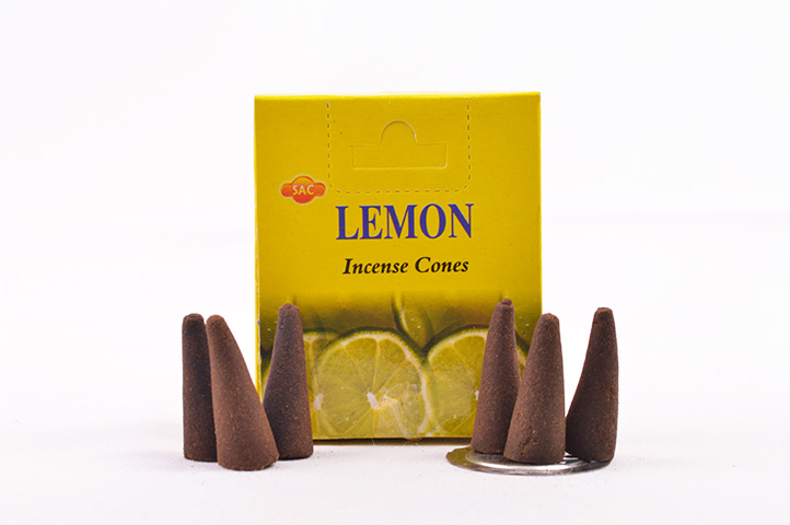 CONOS AROMATICOS x10unid SAC LIMON (PS)