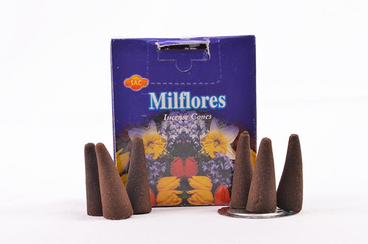CONOS AROMATICOS x10unid SAC MILFLORES (PS)