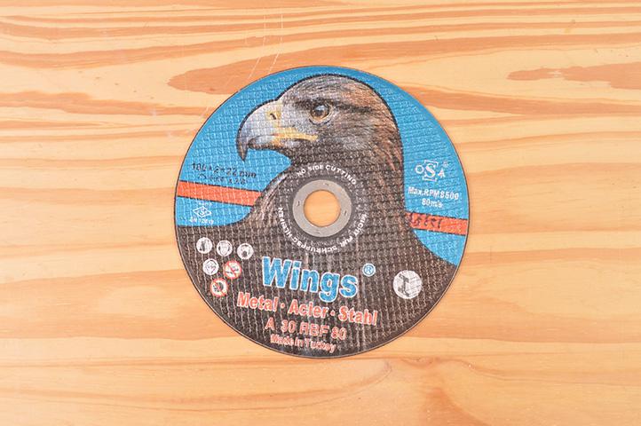 DISCO DE CORTE PLANO WINGS 180mm (12393) (CLI2)