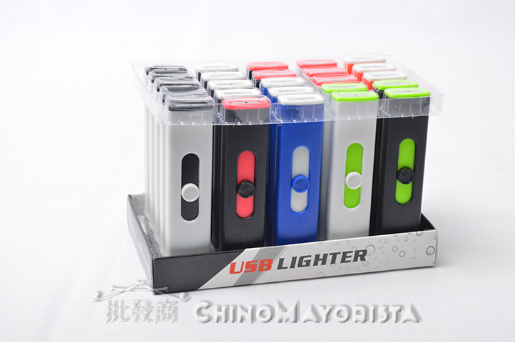 ENCENDEDOR DESLIZABLE USB c/ LUZ CALORICA (8310) (CS)