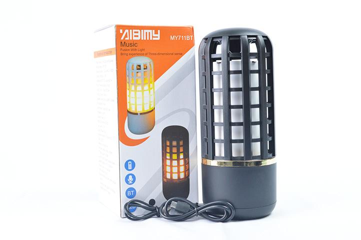 PARLANTE LAMPARA EFECTO LLAMA MY711BT (HC)