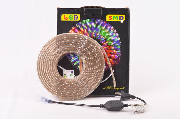 TIRA LED EXTERIOR 10mts. ANGOSTA LUZ CÁLIDA (CS)