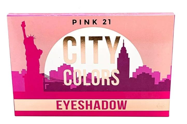 SET MAQUILLAJE CITY COLORS -PINK 21- (CLN)