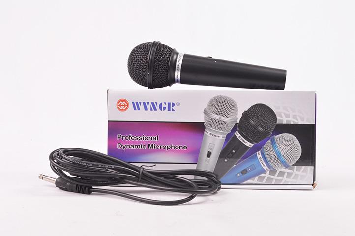 MICROFONO WVNGR DINAMICO c/CABLE (HEY)