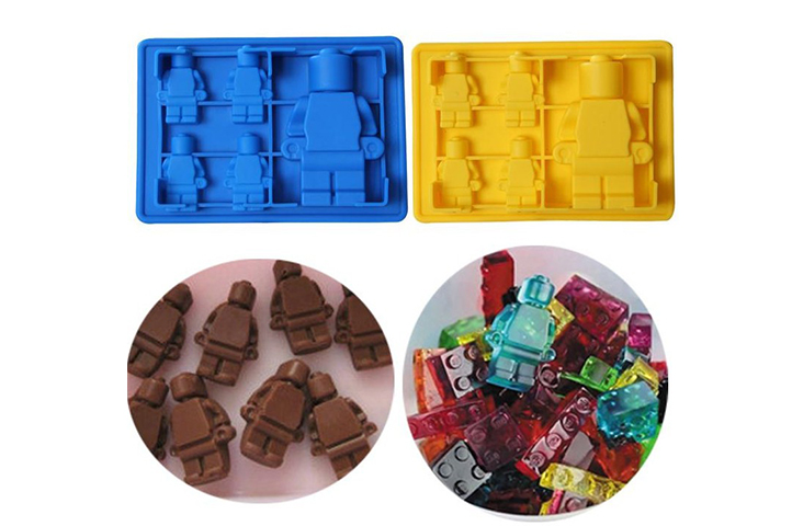 MOLDE SILICONA 5 MUÑEQUITOS TIPO LEGO (CS)
