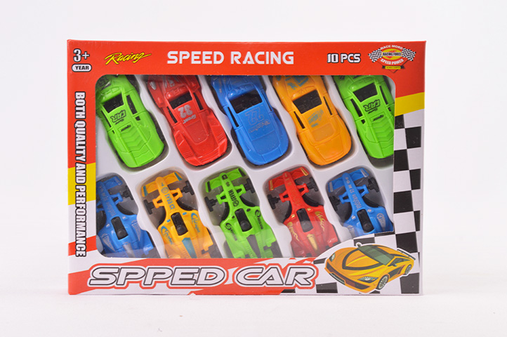 PACK 10 AUTITOS SPEED CAR (ADR)