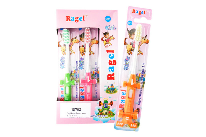 CEPILLO DENTAL x12un. INFANTIL -RAGEL- (CS)