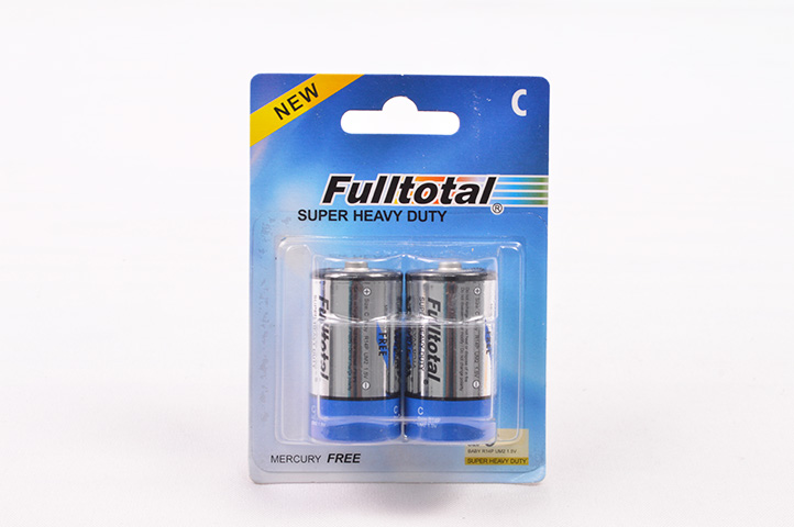 PACK 2 PILAS FULLTOTAL C SUPER HEAVY DUTY (HC)