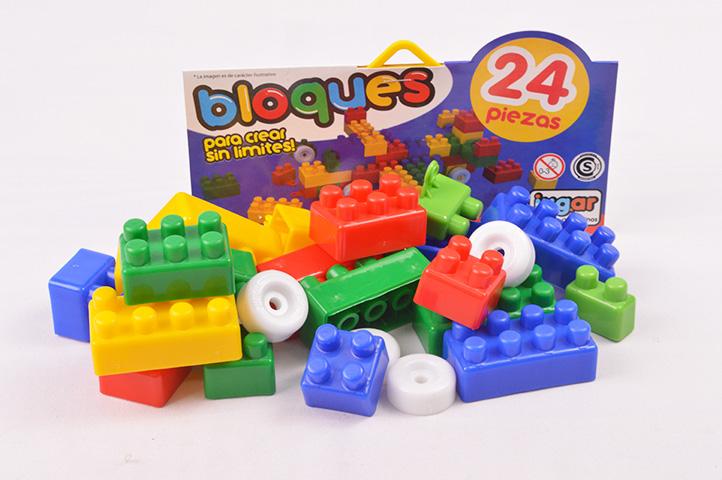 PACK BLOQUES PLASTICOS 24 PIEZAS (ADR)