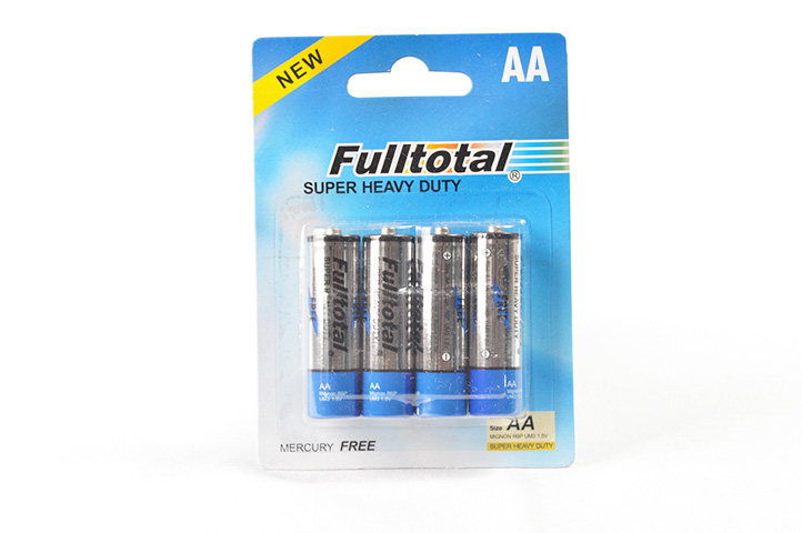 PACK 4 PILAS FULLTOTAL AA SUPER HEAVY DUTY (HC) (HC)