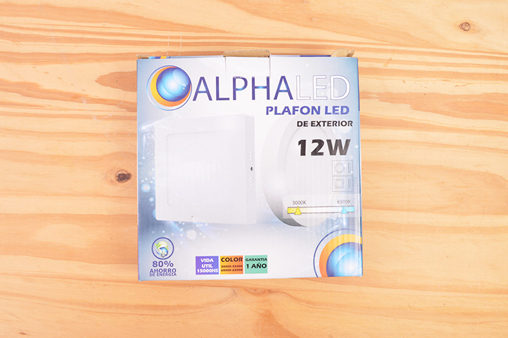 PLAFON CIRCULAR LED 12W CALIDO (10436) (CLI2)