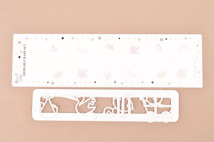 CORTANTE PLASTICO p/ REPOSTERIA ADORABLE BABY (3046) (CS)
