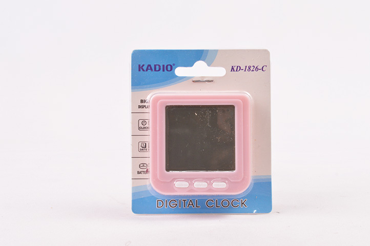 MINI RELOJ DIGITAL DE MESA KADIO (HEY)