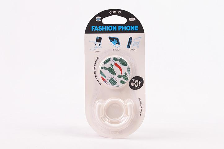 GRIP Y SOPORTE CELULAR FASHION PHONE (HEY)