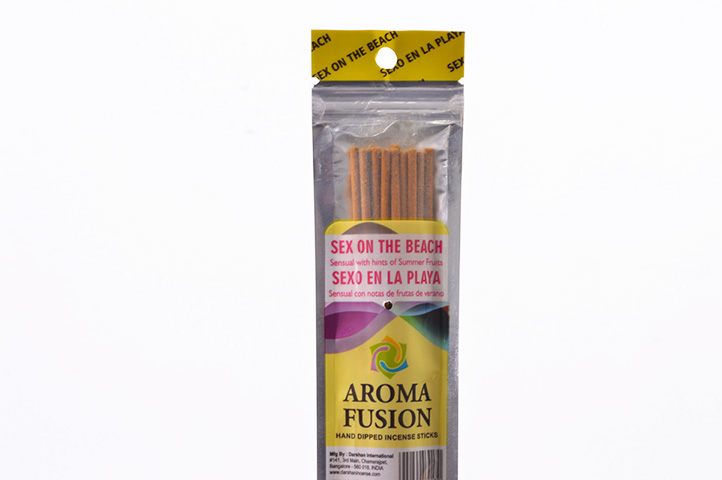 PACK 15 SAHUMERIOS AROMA FUSION SEX ON THE BEACH (PS)