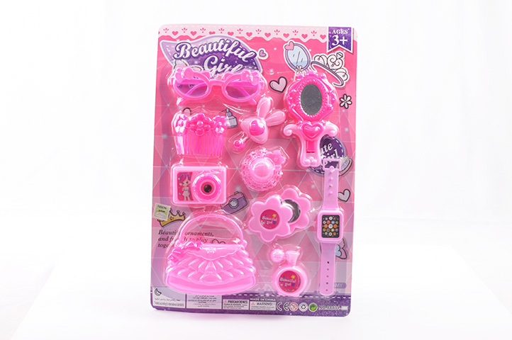 SET DE BELLEZA INFANTIL BEAUTIFUL GIRL BLISTER (LU)
