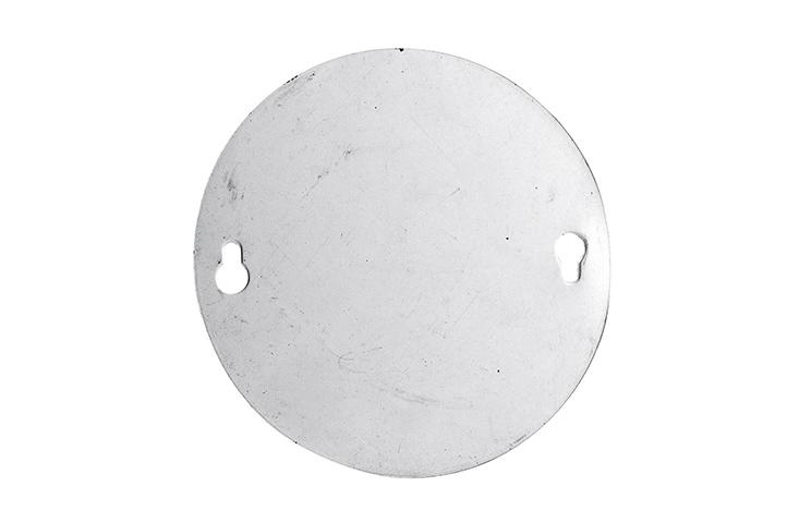 TAPA CIEGA CIRCULAR METALICA 11cm (90524) (CLI2)