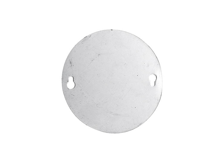 TAPA CIEGA CIRCULAR METALICA 9cm (90523) (CLI2)