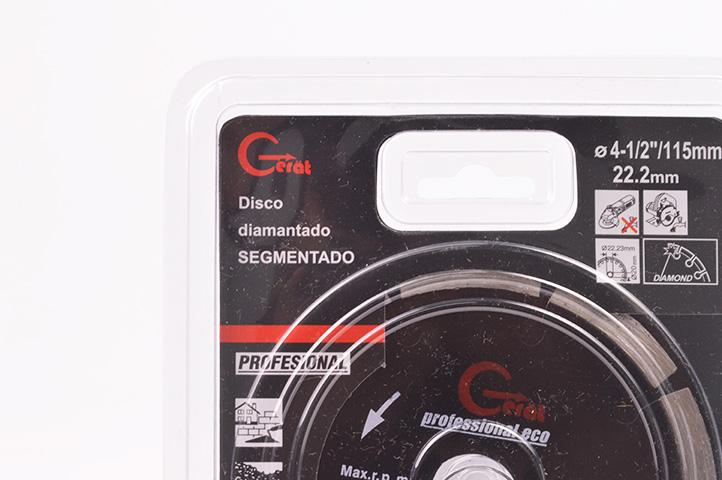DISCO DIAMANTADO SEGMENTADO 115mm (88074) (CLI2)