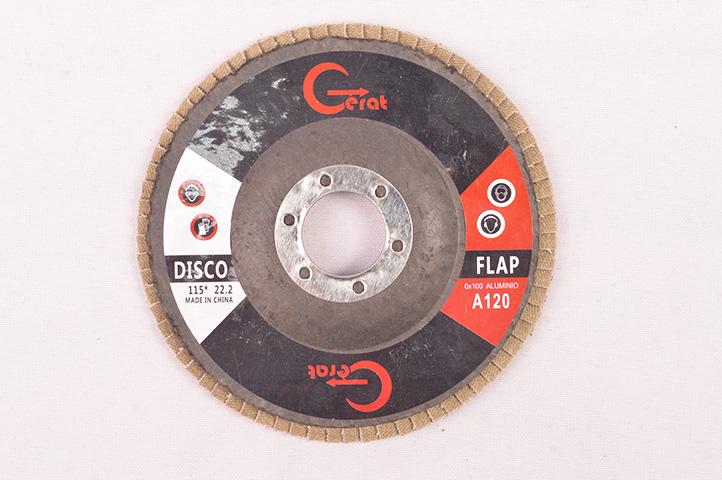 DISCO FLAP 115mm GRANO 120 (54552) (CLI2)