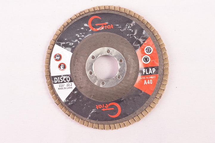 DISCO FLAP 115mm GRANO 40 (54552) (CLI2)