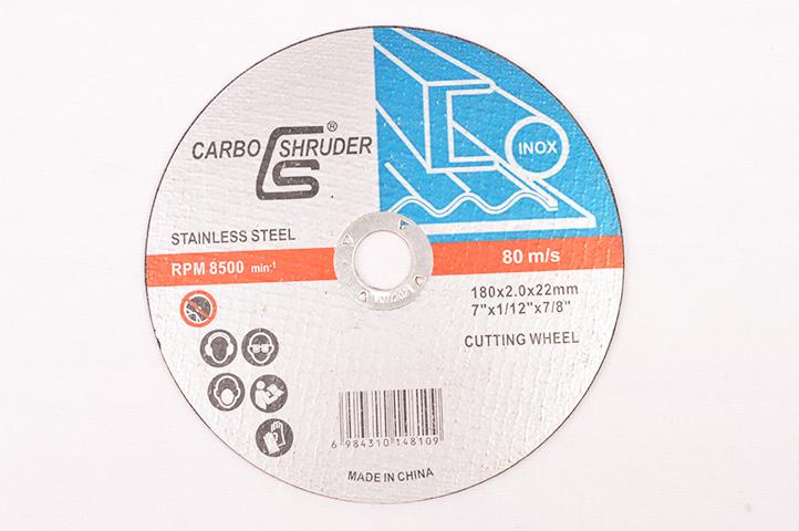 DISCO DE CORTE PLANO CARBO SHRUDER 180mm (48109) (CLI2)