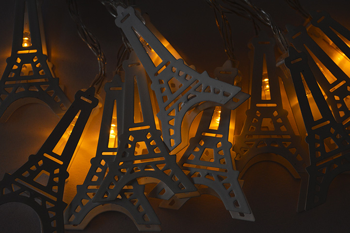 SET 10 LUCES DECORATIVAS TORRE EIFFEL (GF131) (CES)
